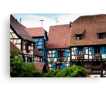 Eguisheim The Beautiful 3 Canvas Print