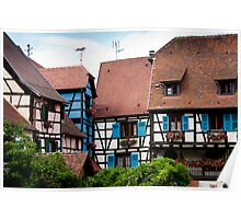 Eguisheim The Beautiful 3 Poster