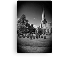 Hadleigh Church Suffolk. St Mary. Canvas Print