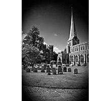Hadleigh Church Suffolk. St Mary. Photographic Print