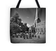 Hadleigh Church Suffolk. St Mary. Tote Bag