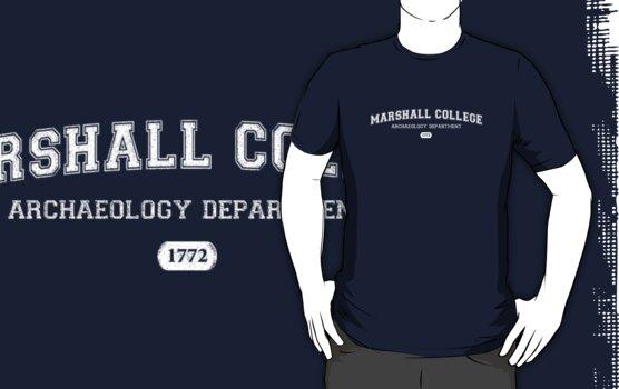 Marshall College Archaeology Department by Daniel Rubinstein