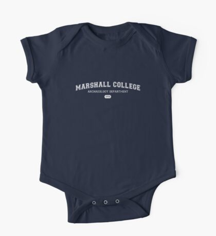 Marshall College Archaeology Department One Piece - Short Sleeve
