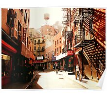 Doyers Street - Chinatown - New York City Poster