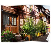 Eguisheim The Beautiful 5 Poster