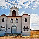 First English Lutheran Church, Bainville Montana, USA by Bryan D. Spellman