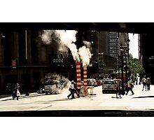 New York Steam Photographic Print