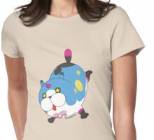 Meow Wow Womens Fitted T-Shirt