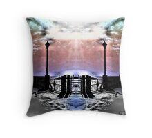 Heavenly Ocean Throw Pillow