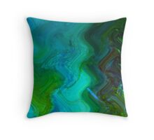Curves of the Heart Throw Pillow