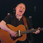 folk singer with guitar by John Butterfield