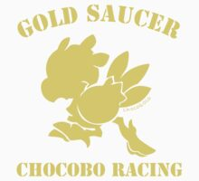 Gold Saucer Chocobo Racing Kids Clothes