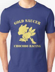 Gold Saucer Chocobo Racing Unisex T-Shirt