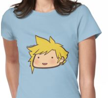 Chibi Cloud Womens Fitted T-Shirt