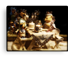 A Royal Meal Canvas Print
