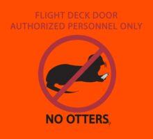 No Otters Kids Tee