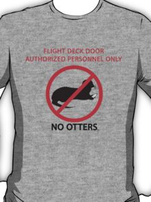 No Otters T-Shirt