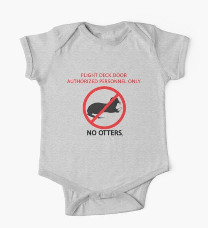 No Otters One Piece - Short Sleeve