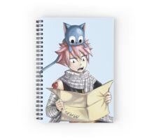 Natsu & Happy Spiral Notebook