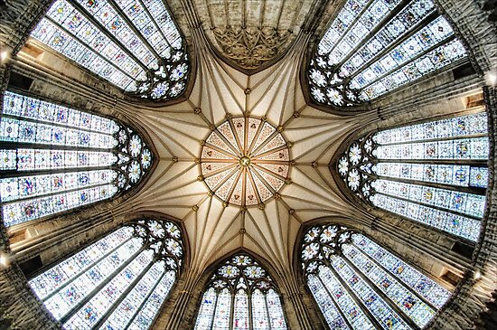 Chapter House, York Minster by Guy Carpenter