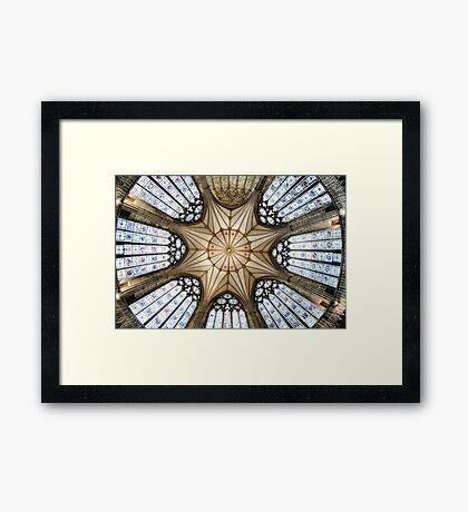 Chapter House, York Minster Framed Print