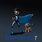 Super Hero Thunderbolt by treasured-gift