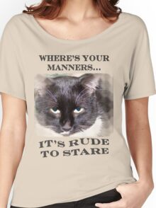 Where's Your Manners... Women's Relaxed Fit T-Shirt