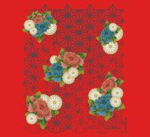 Asanoha pattern Baby Tee