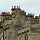 Rooftops and Chimneys by hjaynefoster