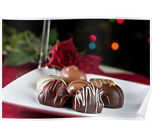 Gourmet Chocolates Poster