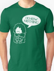Funny Movie t shirt I Know Nothing, Jokes Movie, Humor T-Shirt