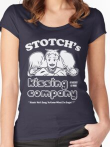 Stotch's Kissing Company Women's Fitted Scoop T-Shirt