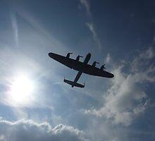 Lancaster Bomber by Laura-Jane Shepherd