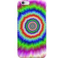 Colour Explosion in Red Green and Blue iPhone Case/Skin