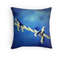 Sharp Frost Throw Pillow