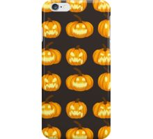 Spooky Jack 'o Lanterns iPhone Case/Skin