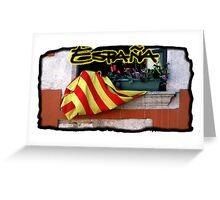 Espana Postcard Greeting Card