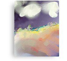 Clouds Landscape Canvas Print