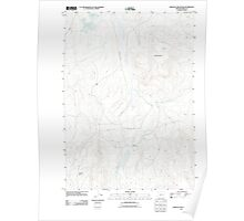 USGS Topo Map Oregon Bartlett Mountain 20110831 TM Poster