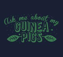 Ask me about my Guinea Pigs cute pet design Kids Tee