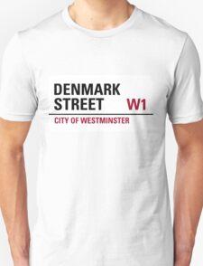 Denmark Street London Road Sign T-Shirt
