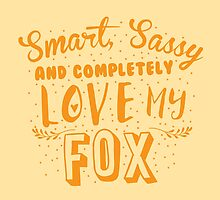 Smart, Sassy and completely love my FOX by jazzydevil