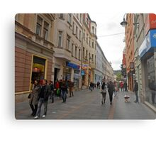 City life in Sarajevo Metal Print