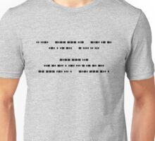 If you can read this, You understand Morse Code Unisex T-Shirt
