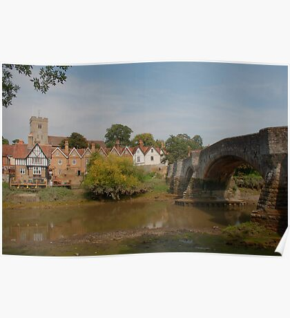 Aylesford - Below The Bridge Poster