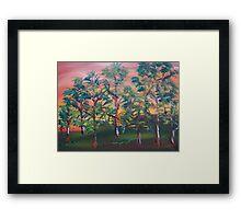 Autumn Starts Framed Print