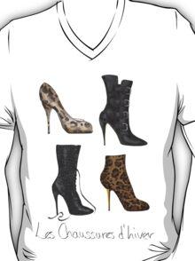 Les Chaussures d'hiver T-Shirt