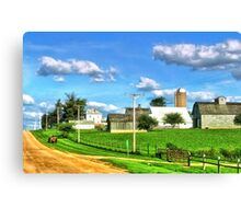 Just Another Summer Day in Mid-America Canvas Print
