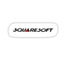 Squaresoft logo Sticker