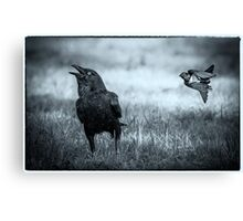 Incoming Missile Canvas Print